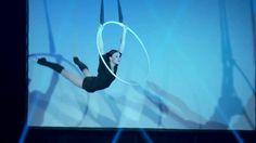 Lea Hinz - Aerial Hoop Bloodstream on Vimeo