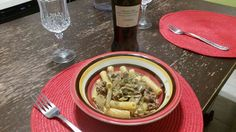 maccheroncini carciofi e salsiccia