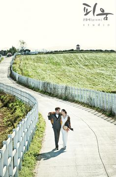 korea pre-wedding outdoor photoshoots samples