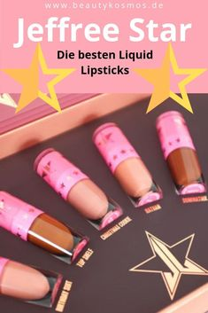 Jeffree Star - The Mini Velour Liquid Lipstick im Test & Die besten Liquid Lipsticks langanhaltend schön vegan & cruelty-free! Best Lipstick Color, Burgundy Lipstick, Dark Lipstick, Best Lipsticks, Pink Lipsticks, Lipstick Colors, Lipgloss, Lipstick Swatches, Lime Crime
