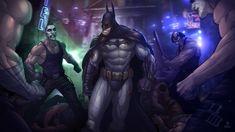 Batman: Arkham City // Artwork by Patrick Brown Batman Arkham City, Gotham City, Joker Arkham, Arkham Knight, Batman Drawing, Batman Artwork, Batman Wallpaper, Hd Wallpaper, Brown Wallpaper