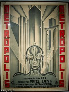 Metropolis was directed by German director Fritz Lang in 1927 and has been noted by film fans for its expressionistic shots of a dystopian world