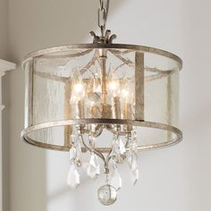 Alison: Check out Vintage Modern Crystal Mini Chandelier from Shades of Light Mini Chandelier, Chandelier Shades, Modern Chandelier, Chandelier Lighting, Lighting Shades, Modern Crystal Chandeliers, Kitchen Chandelier, Iron Chandeliers, Pergola Lighting