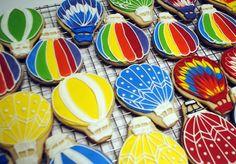 Hot Air Balloon Favor Cookies
