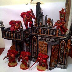 Bloodangels warhammer40k blood angels warhammer 40k diorama