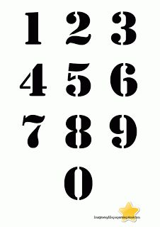 Numbers with black background Large numbers to print- Numeros con fondo en negro Numeros grandes para imprimir Numbers with black background Large numbers to print - Alphabet Symbols, Graffiti Tattoo, Number Stencils, Silhouette Curio, Carving Designs, Printable Letters, Scroll Saw Patterns, Vintage Typography, Chalkboard Art