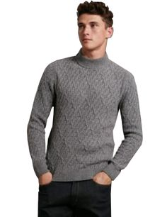 MARKS & SPENCER by AUTOGRAPH Mens Wool Rich Textured Long Sleeve Slim Fit Jumper T30/1487A.  XX-Large  MRRP: £49.50GBP - AVI Price: £22.00GBP