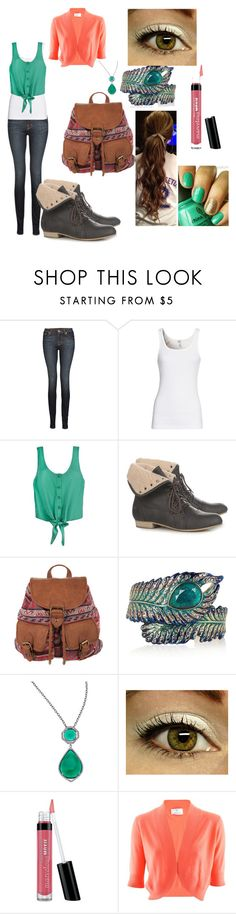 """Untitled #68"" by a1997sivan ❤ liked on Polyvore featuring J Brand, Splendid, MTNG, 1&20 Blackbirds, Isharya, Mystic Light, Bare Escentuals and Allude"