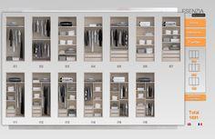 Con el configurador de armarios nos hemos realizado en un momento nuestro armario 3 puertas correderas personalizado a nuestro gusto y necesidad