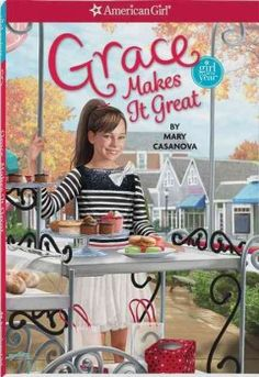 J SERIES AMERICAN GIRL. Ten-year-old Grace is crushed to learn that her grandparents' bakery might close after thirty years and wonders how her own business, which they inspired, can survive if theirs cannot, but she and her friends use their talents and newly-acquired business skills to try to save the day.