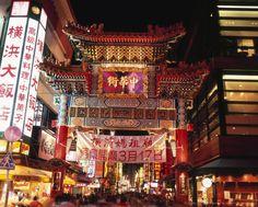 Yokohama, Chinatown,Japan