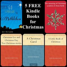 FREE books for Advent & Christmas