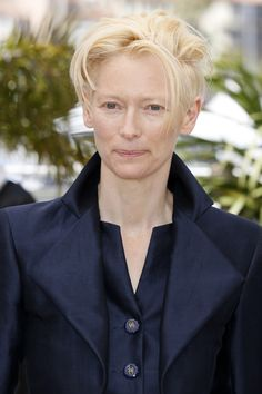 Tilda Swinton attends 'Only Lovers Left Alive' photocall at the 66th Cannes Film Festival