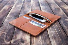 iPhone 6 wallet billfold wallet mens leather wallet by DiGeordie