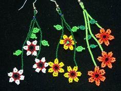 flores huichol - Buscar con Google