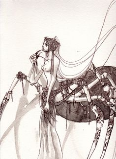 Loveliest Grotesque : Spider Princess