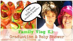 Family Vlog: Graduation, and a Baby Shower E.1 #DGIJ D26