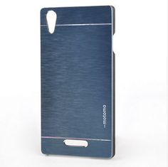 New-Luxury-Metal-Aluminum-Brushed-Hard-Back-Case-Cover-For-Sony-Xperia-Phones