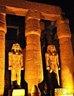 Luxor Temple, Luxor by elsa11, via Flickr