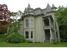 1872 Gothic Revival – 36 S Highland Ave, Ossining, NY 10562 Historic Squire House! First concrete house in Westchester County, Gothic Revival Architectural Style. House has served as a hospital & school.