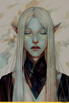 Nipuni,artist,Dragon Age,фэндомы,Lavellan,Инквизитор (DA),DA персонажи,Солас,Фен'харел,DAI,под катом еще одна