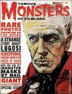 Famous Monsters of Filmland Magazine #9