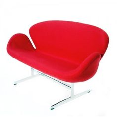 Arne Jacobsen Furniture Mid-Century Classics, The Egg Chair and Swann Chair by Arne