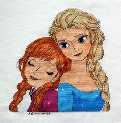 Anna i Elsa - Kraina Lodu/Frozen