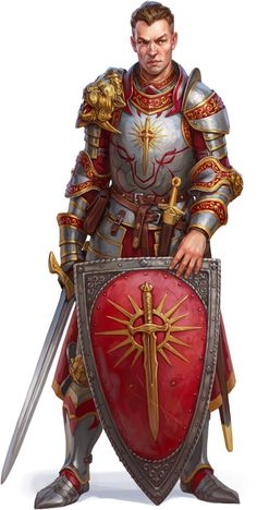 m Paladin of Iomedae Heavy Armor Shield Longsword Dagger Temple urban City Oppian Nevilindor human Pathfinder PFRPG DND D&D Fantasy Grounds lg Fantasy Male, Fantasy Armor, High Fantasy, Medieval Fantasy, Armadura Medieval, Moon Knight, Knight Armor, Evil Knight, Fantasy Portraits