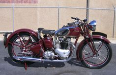 photos of vintage motorcycles | Triumph Speed Twin 1938