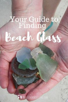 Finding beach glass is a free and rewarding hobby. Not only are you adding to your beach glass collection, you're also helping to clean up our beaches. We share 15 tips to help you find beach glass so you'll be prepared on your next beach adventure. Souvenir Display, Diy Souvenirs, Stuff To Do, Things To Do, Beach Adventure, Roadside Attractions, Free Activities, Us Beaches, Glass Collection