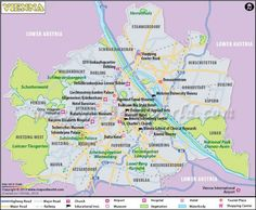 awesome Vienna Map
