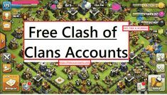 Free Clash of Clans Account 2020 :- Coc Free Accounts (Gems) 2020 | Clash Of Clans Passwords. Coc Free Accounts (Gems) 2020 | Clash Of Clans Passwords. New Accounts. If you can't get a free account, take a comment. A free account will be sent soon. What Is Coc. Coc Clash Of Clans, Clash Of Clans Cheat, Clash Of Clans Game, Supercell Clash Of Clans, Free Gems Coc, Clash Of Clans Account, Clas Of Clan, Clan Games, Nintendo Ds Pokemon