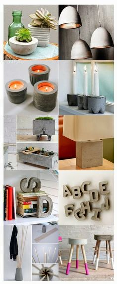 DIY Concrete Ideas – Concrete is by far the most pre-owned composed material, from routine construction projects to tiny ornamental products. Our subject for today is Do It Yourself Concrete . Read DIY Concrete Ideas For A Chic Minimal Design Concrete Crafts, Concrete Projects, Hobbies And Crafts, Diy And Crafts, Concrete Coffee Table, Cement Art, Beton Diy, Diy Clay, Minimal Design