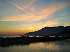 Salerno sunset