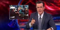 """If you thought your favorite Fox News pundits were furious about President Obama's """"latte"""" salute, then get ready for a steaming hot cup of Stephen Colbert.  And don't bother coming at him with your liberal whining, Colbert warned: """"..."""
