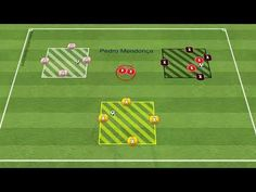 Relay Rondo with 4 teams of 4 players (Julian Nagelsmann 2021) - YouTube