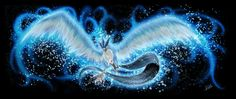 Articuno Legendary Pokemon Fan Art (The Ice of Sky by Lina17Inverse.deviantart.com on @DeviantArt)