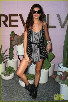 Alessandra Ambrosio Brings Girl Power to Coachella 2016