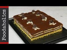 Πρωτότυπη σοκολατίνα πάστα με μπισκότο | foodaholics- Easy chocolate cake - YouTube Cookbook Recipes, Cooking Recipes, Tiramisu, Decorative Boxes, Cake, Ethnic Recipes, Desserts, Yolo, Youtube