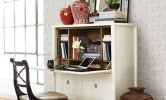 Bohemian Style Home Office | Williams-Sonoma