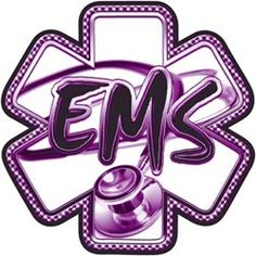 star of life emt pink Emergency Medical Responder, Emergency Medical Services, Pink Stethoscope, Ems World, Ems Week, Tattoo For Baby Girl, Tattoo Baby, Firefighter Emt, Firefighter Tattoos