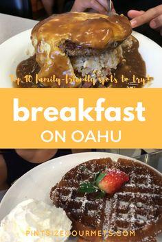 Top 10 breakfast spots on Oahu
