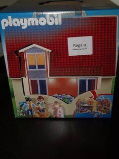 Patricia E. ganó esta casa playmobile gracias a la web del juguete.