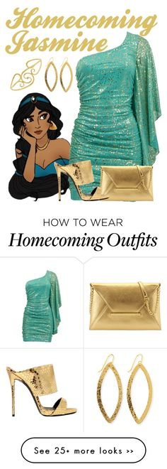 """Homecoming Jasmine"" by alyssa-eatinger on Polyvore"