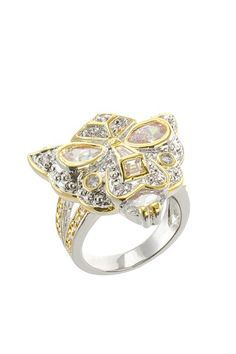 Panther Mask CZ Ring by Kenneth Jay Lane $35.00 (had only a size 7)