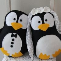 Cute pinguins plushkacraft.com