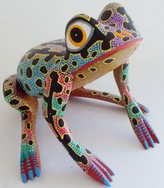 Oaxacan Wood Carvings - Alebrijes, Oaxacan Animals. Mexico