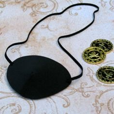 Pirate Party Eyepatch - directions & template