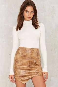 Rare London If All Else Scales Asymmetric Skirt | Shop Clothes at Nasty Gal!